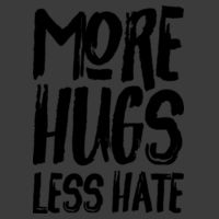 More Hugs Less Hate Design